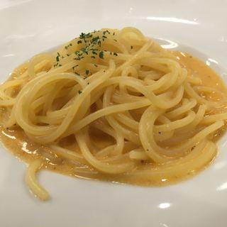 濃厚エビクリームパスタ(ヴォーノ・イタリア 日立店)