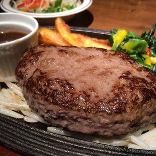 黒毛和牛100%フレッシュハンバーグ(ミート矢澤 (ミートヤザワ))