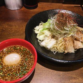 山椒味噌つけ麺(永斗麺)