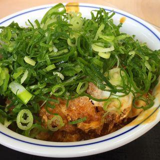 ネギ味噌かつ丼(かつや 姫路西店 )