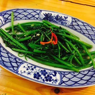 空芯菜のにんにく炒め(ベトナム酒場 ビアホイ )