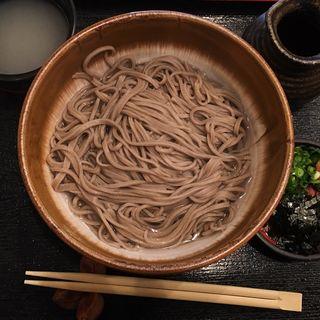 釜揚げ蕎麦(いいづか・出雲そば )