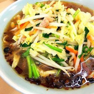 野菜ラーメン(自慢亭 )