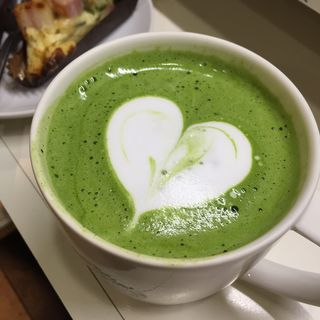 抹茶ティーラテ(スターバックス・コーヒー 新丸ビル店 (STARBUCKS COFFEE))