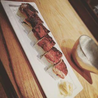 焼鯖棒寿司(臥薪 鉃 )
