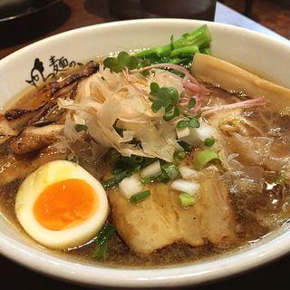 極醤油ラーメン(麺のようじ (【旧店名】大阪拳))