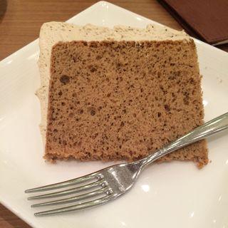 紅茶シフォンケーキ(Duck's Alice Cafe)