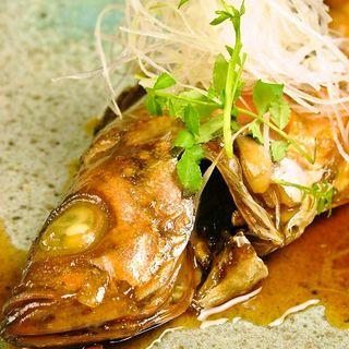 鮮魚の煮つけ(鮨処 三津哉)