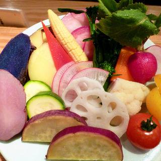 温野菜盛り(CHIKAPPA 銀座)