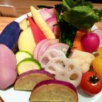 温野菜盛り