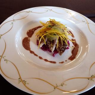 秋刀魚マリネ(タワーレストラン ヨコハマ (THE TOWER RESTAURANT YOKOHAMA))