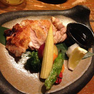 淡路地鶏の荒塩焼き(Vegetable Dining 畑舎 (はたけや))