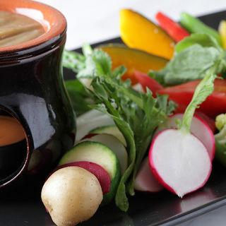温野菜の盛り合わせ(トラットリア コダマ)