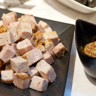 豚肉のサイコログリル(トラットリア コダマ)