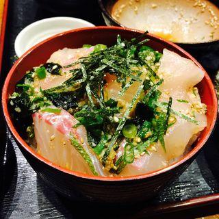 宇和島鯛めしセット(郷土料理 五志喜 本店 (ごしき))