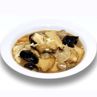 揚げ豆腐とキクラゲのあんかけ(台南茶寮 )