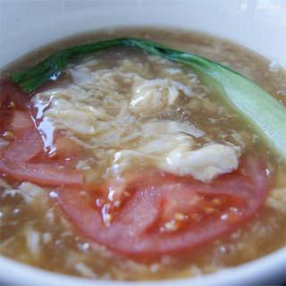 卵とトマトのスープ(張家 日本橋店 (チョウヤ))