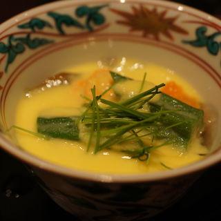 茶碗蒸し(日本料理 TAKEMOTO (タケモト))