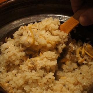 あさり土鍋(日本料理 TAKEMOTO (タケモト))