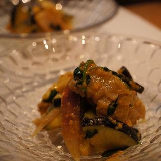 野菜の味噌和え(日本料理 TAKEMOTO (タケモト))