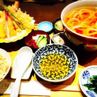 天ぷら盛り合わせ御膳(有喜屋 寺町店 (うきや))