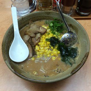 味噌コーンラーメン(サッポロラーメン ほんば )