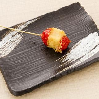 トマトの串揚げ(たき川 )