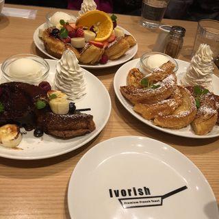 フレンチトースト プレーン(アイボリッシュ(ivorish)渋谷店)