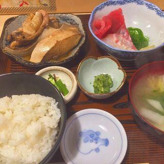 あら煮定食(さわら )