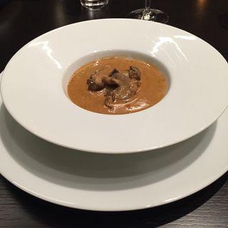 キノコの濃厚スープ(The Fifth Floor by MASA UEKI )