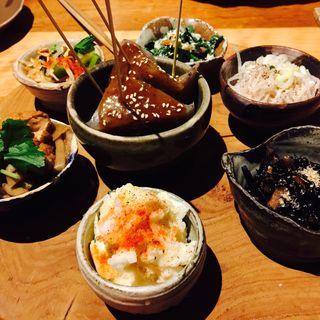 お惣菜盛り合わせ(土禾 ヒジカ (HIJIKA))