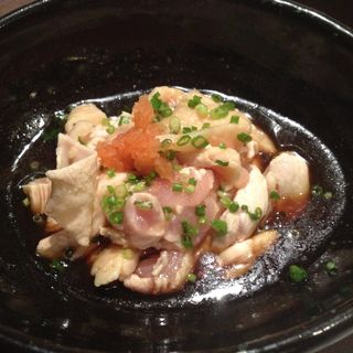 鶏モモポン酢(梟 (ふくろう))