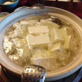 湯豆腐(嵯峨野 (さがの))
