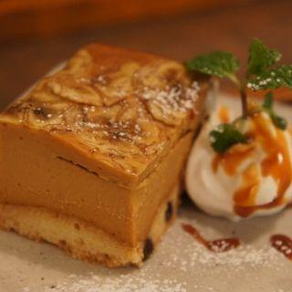 キャラメルバナナのベイクドチーズケーキ(knut (クヌート))