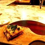 トリュフの香るマスカルポーネチーズのトラピッツィーノ