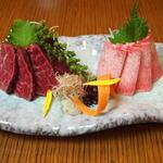 牛肉刺し(たんや又兵衛 銀座店 (たんや またべえ))
