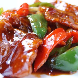 豚肉と野菜の炒めもの(張家 日本橋店 (チョウヤ))