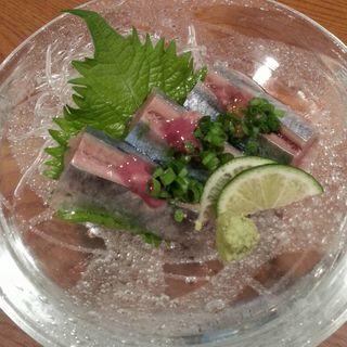 サバの梅肉ソース(大漁光 )