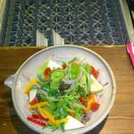 アボカドのサラダ( izakaya 司)