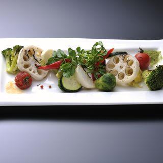 夏野菜のグリル(とれび庵 )