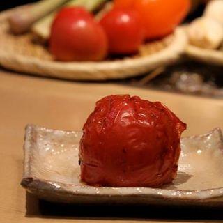 焼きトマト(銀座とりや幸 )
