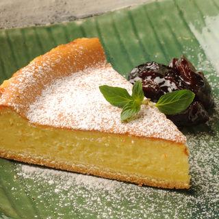 レモンケーキ(うふふ 新宿住友ビル店 炭火焼・熔岩焼 SUMIBI DINING)
