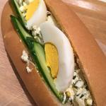 アカモク入りの卵サンド