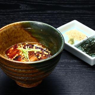 鰻茶漬け( 鰻菜詩GINZA)