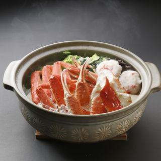 カニ鍋(魚竹 麻布十番店)
