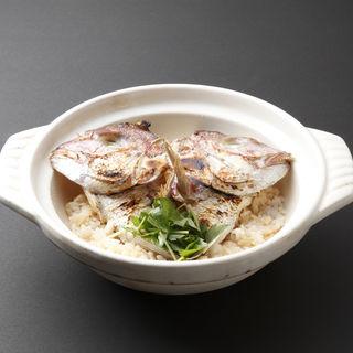真鯛の土鍋(魚竹 麻布十番店)