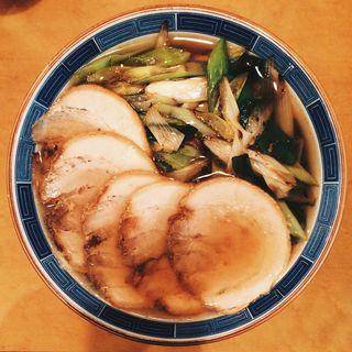 ネギチャーシュー麺(おおすぎ菜館 )