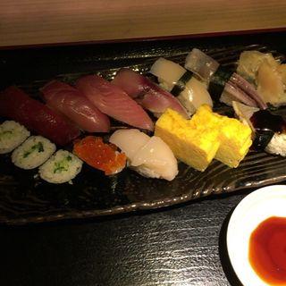 握り寿司定食(東銀座 江戸銀 )