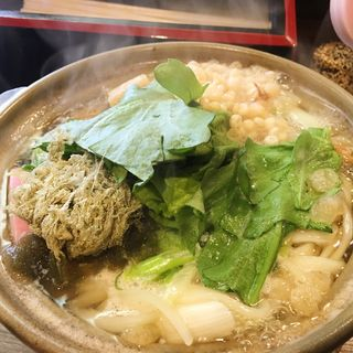 鍋焼きうどん(うどん屋一本)