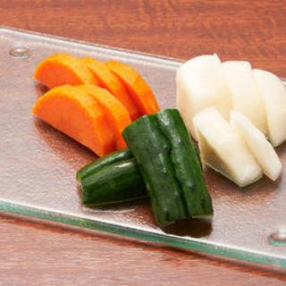 いろいろ野菜の浅漬け(ふくまめ )